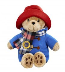 Anniversary Cuddly Paddington Bear with Scarf