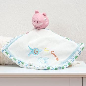 My First Peppa Pig George Comfort Blanket