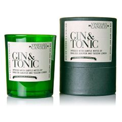 Gin & Tonic Vineyard Shot Glass Candle