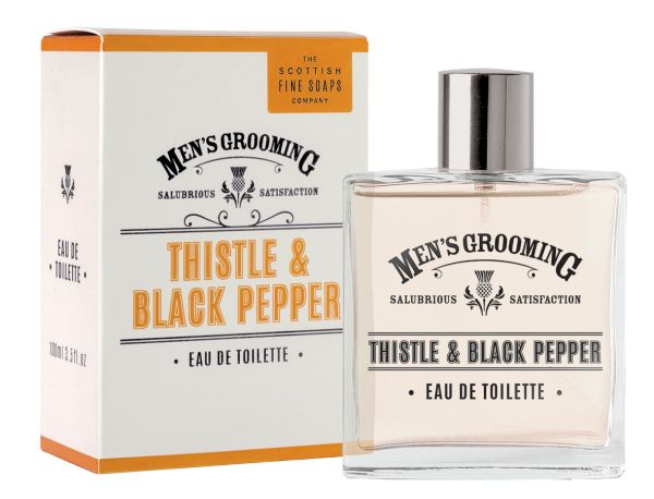 Scottish Fine Soaps Thistle And Black Pepper EDT 100