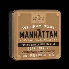 Manhattan Whiskey Soap by Scottish Fine Soaps