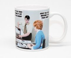 Have You Tried Turning It Off And On Again Funny Mug by Dean Morris Cards