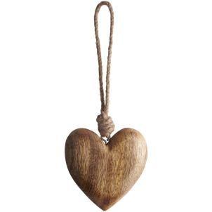 Small Natural heart decoration