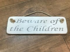 'Beware of the Children' Sign by Austin Sloan