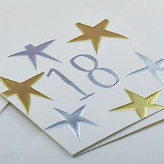 18 Star Card