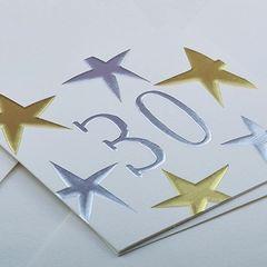 30 Star Card