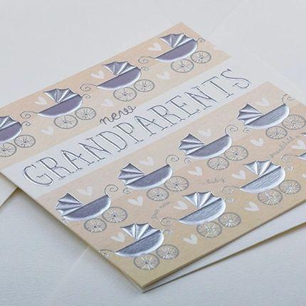 New Grandparents Card Q908