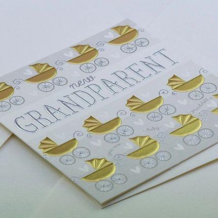 New Grandparent Card Q909