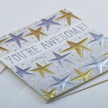 You're Awesome Card q979