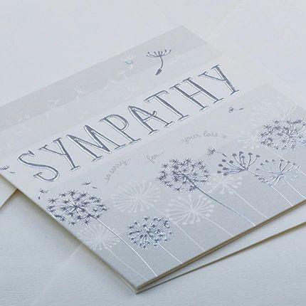Sympathy Card Q921