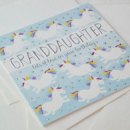 Granddaughter Card Q886