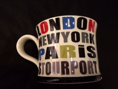 London - New York - Paris - Stourport Mug by Moorland Pottery