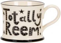 Totally Reem Mug by Moorland Pottery