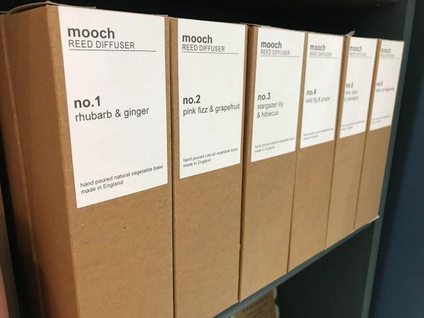 mooch REED DIFFUSER - no.2 pink fizz & grapefruit