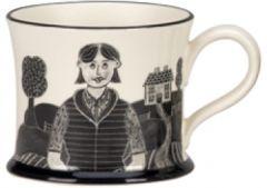 Country Girl Mug by Moorland Pottery