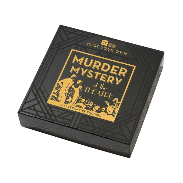 Host Your Own Murder Mystery At the Theatre