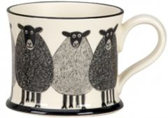Sheep Mug By Moorland Pottery