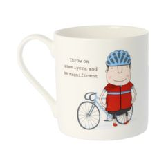 Throw on some Lycra - Rosie Made a Thing Mug