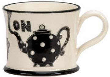 Put the Kettle On Mug by Moorland Pottery