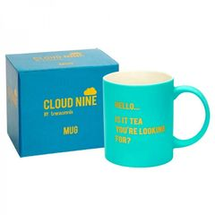 CLOUD NINE gift boxed ' HELLO is it Tea...' Mug