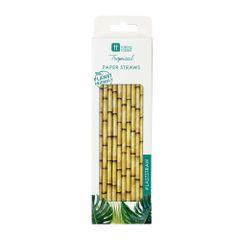 Fiesta Bamboo Paper Straws