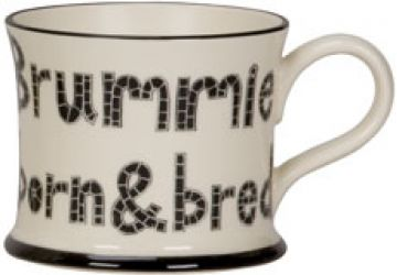 Brummie Born & Bred Mug by Moorland Pottery