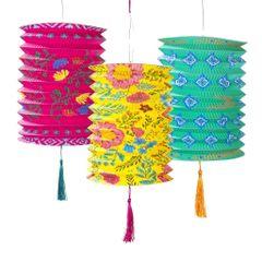 Boho Paper Lantern