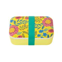 Boho Floral Lunch Box