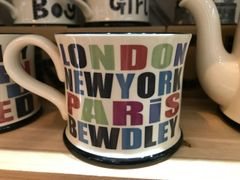 London, New York, Paris, BEWDLEY Mug