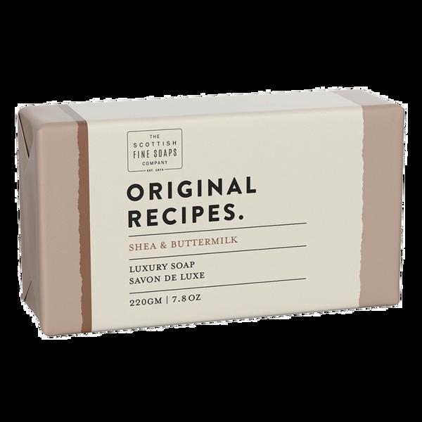 SHEA & BUTTERMILK LUXURY SOAP