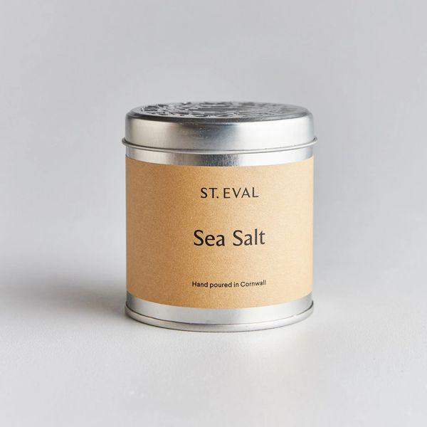 Sea Salt Scented Tin Candle