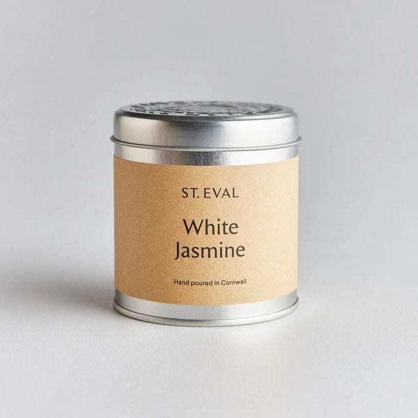 White Jasmine Candle Tin