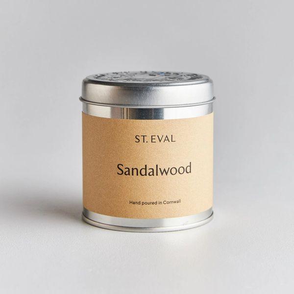 Sandalwood Candle Tin