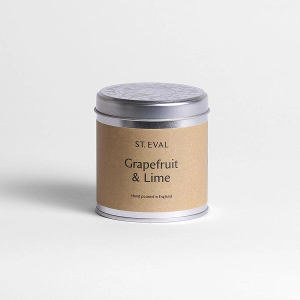 Grapefruit & Lime Candle Tin