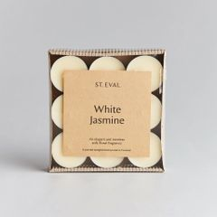 White Jasmine Scented Tealights