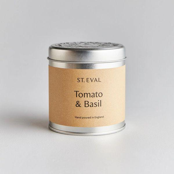 Tomato & Basil Scented Tin