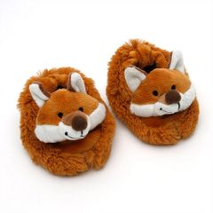 Fox Baby Slippers gift boxed