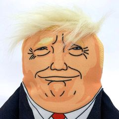 Donald Trump dog toy by Pet Hates Toys