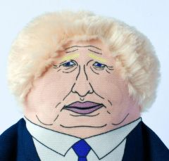 Boris dog toy by Pet Hates Toys