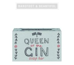 Queen of Gin Soap Bar