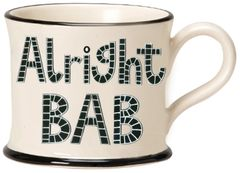 Alright BAB Mug by Moorland Pottery