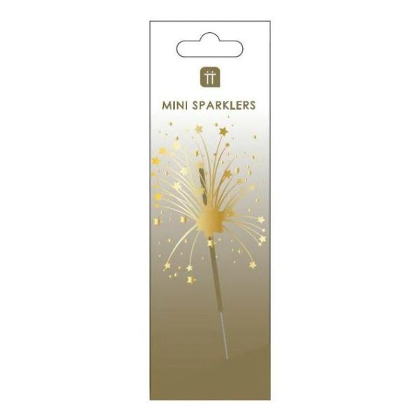 Luxe Gold Mini Sparklers