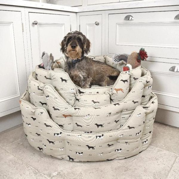 Woof Dog Bed - SMALL