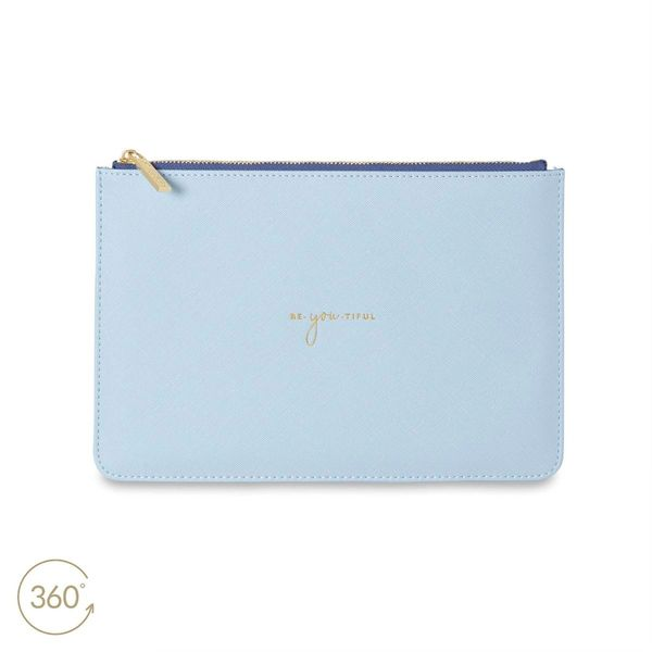 COLOUR POP PERFECT POUCH - BE-YOU-TIFUL - SKY BLUE