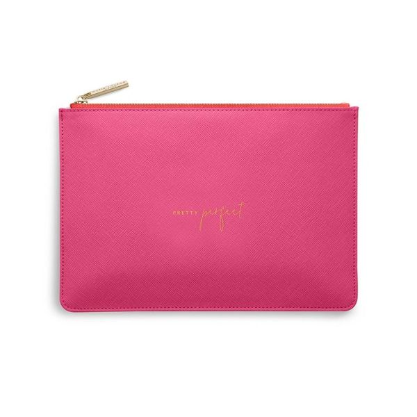 COLOUR POP PERFECT POUCH | PRETTY PERFECT | HOT PINK