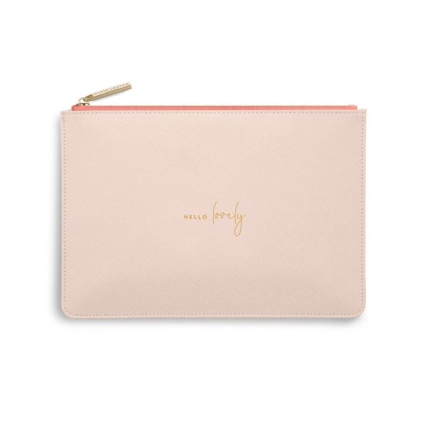 COLOUR POP PERFECT POUCH | HELLO LOVELY | PALE PINK