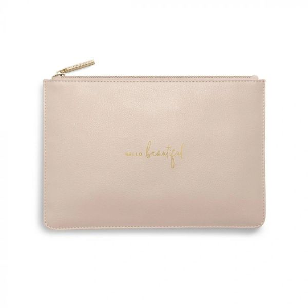 PERFECT POUCH | HELLO BEAUTIFUL | DUSTY PINK