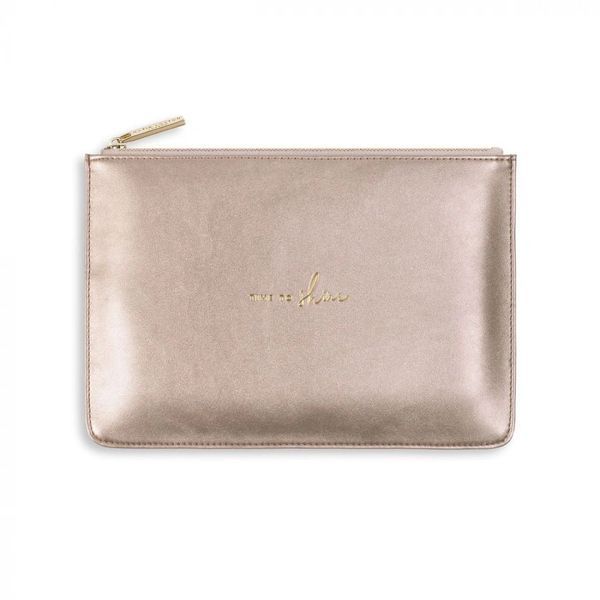 PERFECT POUCH | TIME TO SHINE | ROSE GOLD