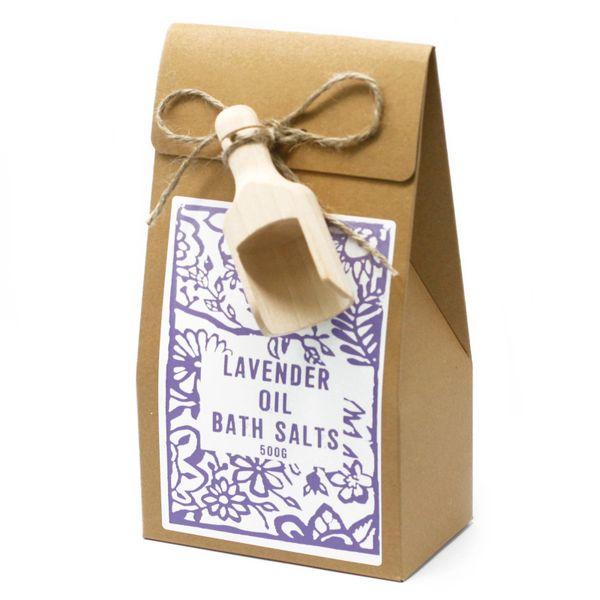 Agnes and Cat Bath Salts - Lavender Essential Oil