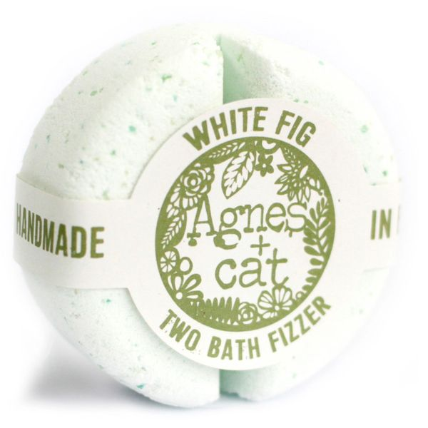 Agnes + Cat Bath Fizzer Fresh - White Fig